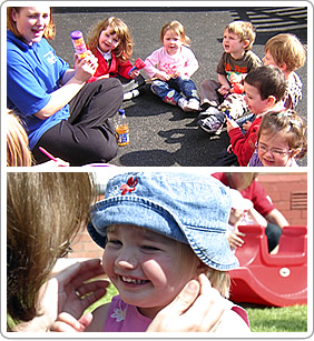 Staff at Abacus Day Nursery