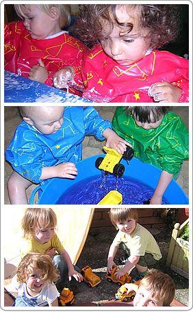 Toddlers at Abacus Day Nursery